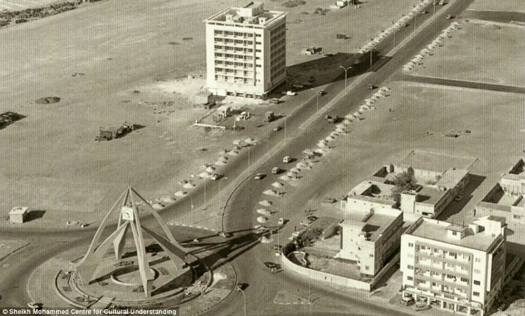 The Clocktower roundabout in Deira