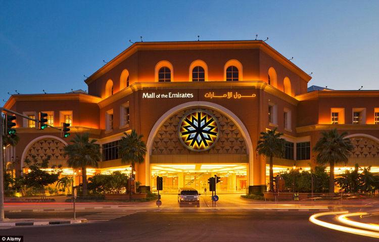 A plush mall in Dubai