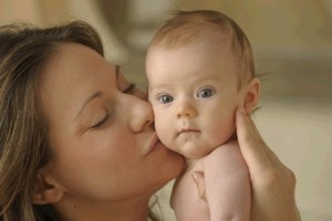 Mothers kiss their babies so that they ingest the pathogens on baby's face and then convert them into antibodies