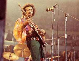 Jimmy Hendrix was naturally left-handed
