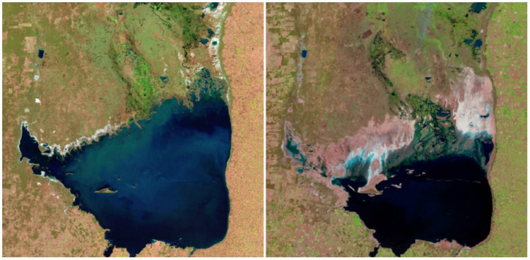 Mar Chiquita Lake, Argentina