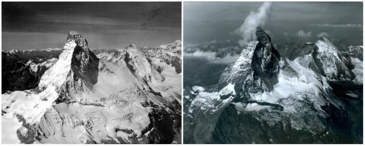 Matterhorn Mountain in the Alps