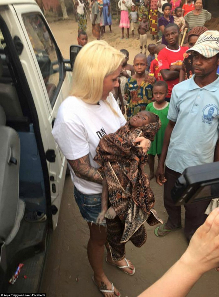 Nigerian Boy rushed to rescue