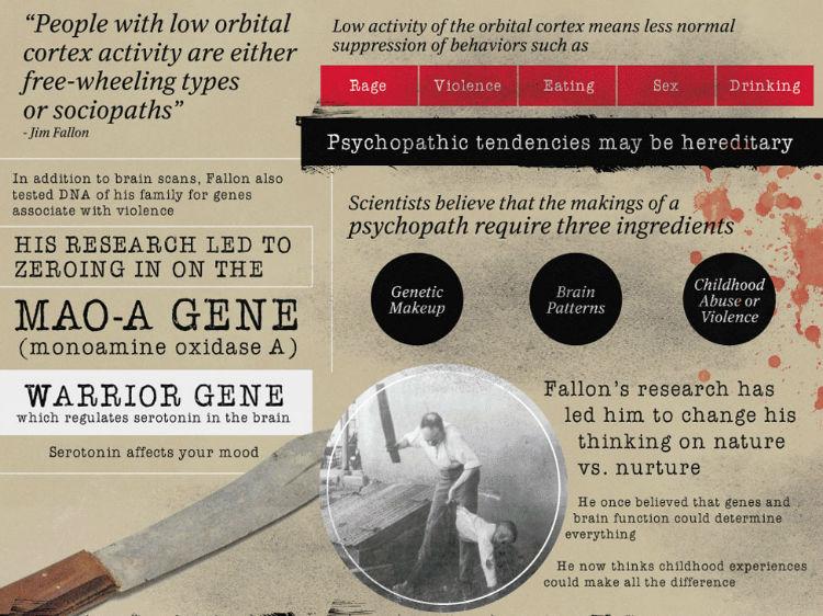 Professor Jim Fallon's research
