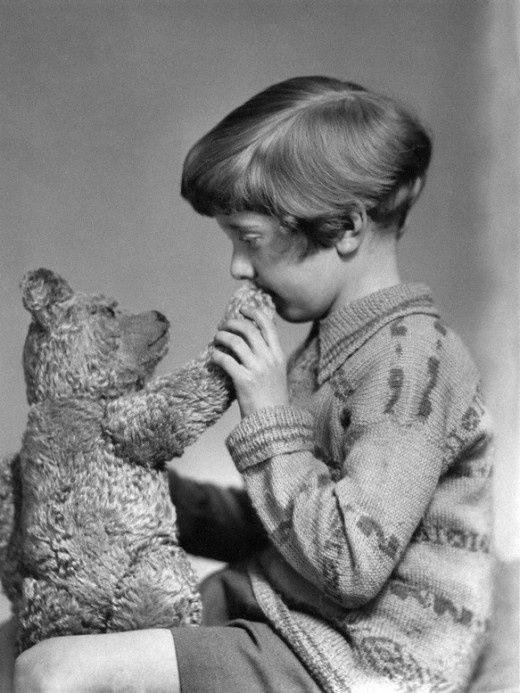 The real Winnie the Pooh
