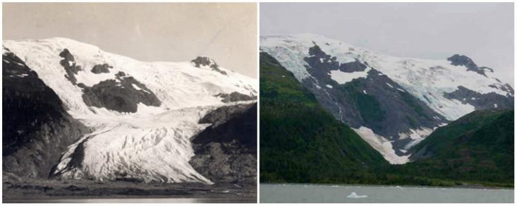 Toboggan Glacier, Alaska.