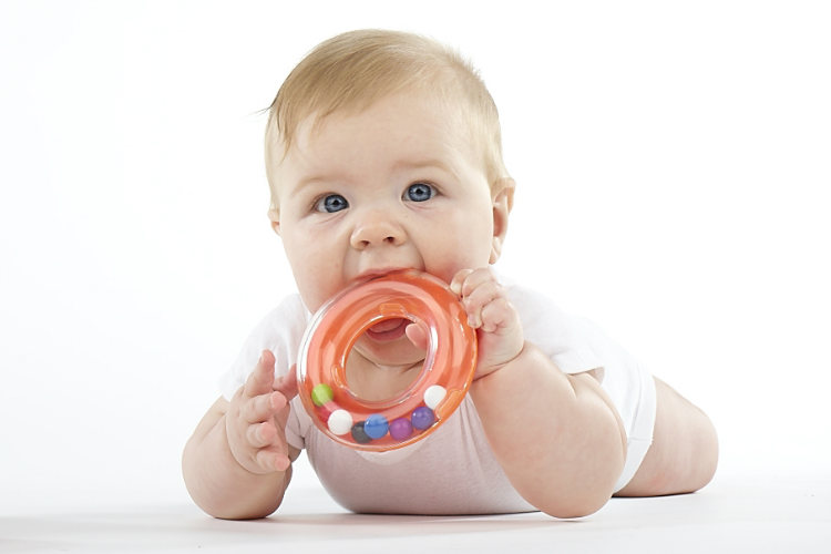 Babies have more nerve endings in their mouth comparatively