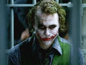 Heath Ledger did his own white makeup for The Joker