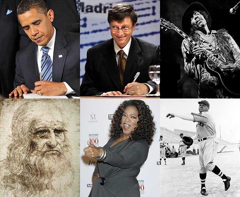 Famous Lefties
