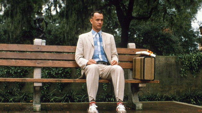 Bench from the forrest gump