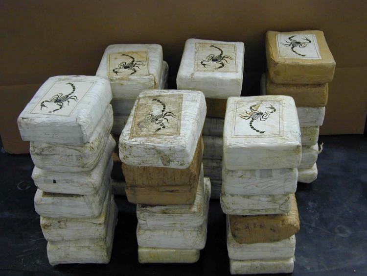 Drug pack scorpion