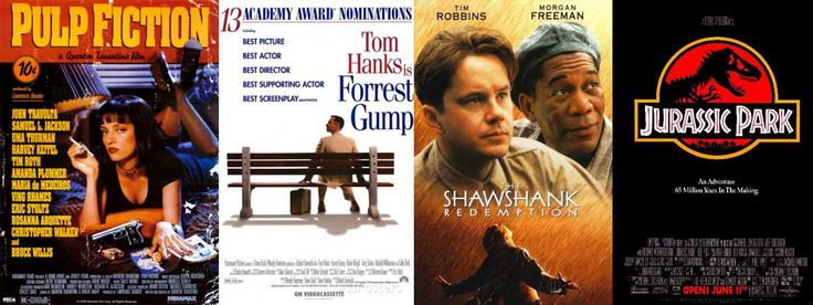 Movies released same time in 1994
