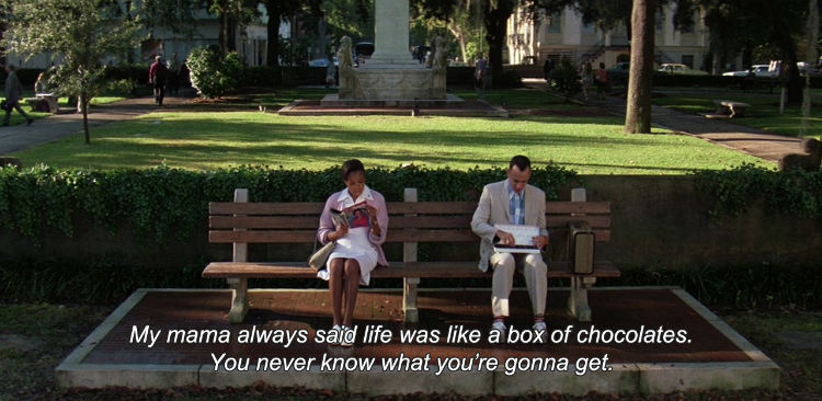 Quote from the Forrest Gump