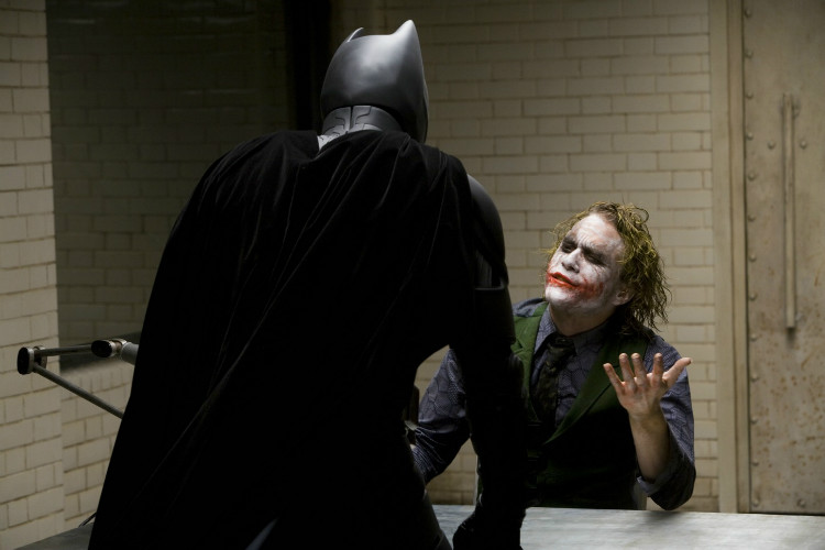 interrogation scene dark knight