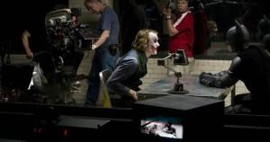 Interrogation scene from The Dark Knight