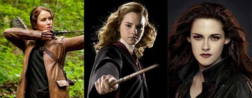 Female characters in famous movies