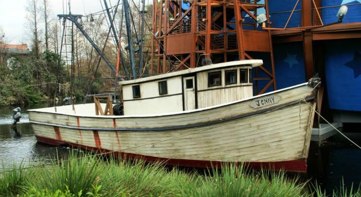 shrimp boats used in forrest gump