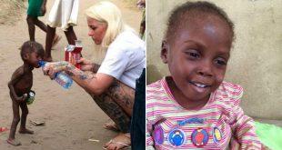 woman saved a nigerian boy