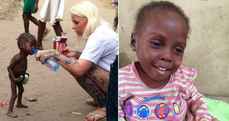 woman saved a nigerian boy