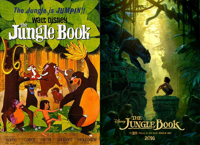 jungle book posters