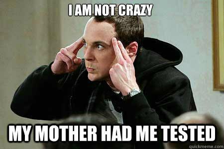 Sheldon Cooper meme