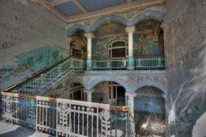 Beelitz-Heilstätte stairs