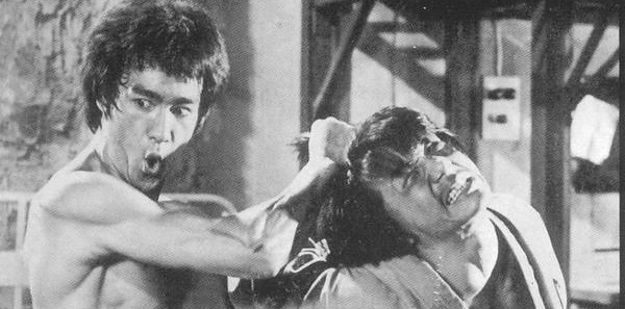 Bruce Lee and Jackie Chan