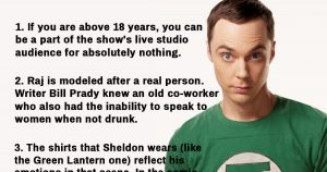 Facts About The Big Bang Theory