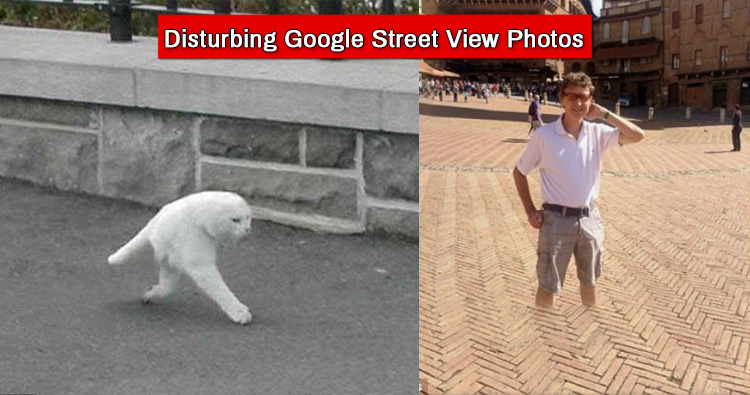 Shocking Google street view pictures