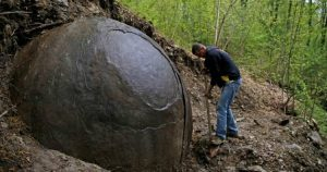 Mysterious Spherical Rock