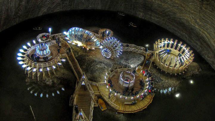 Old Romania Salt Mines