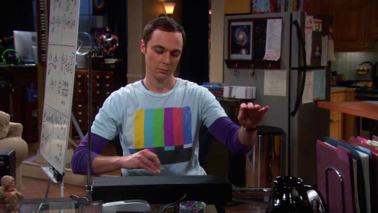 Sheldon Cooper Black Theremin