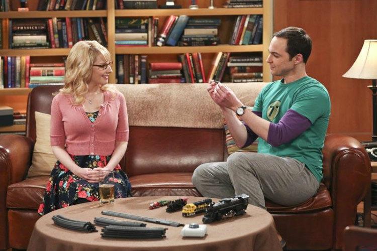 Sheldon and Bernadette