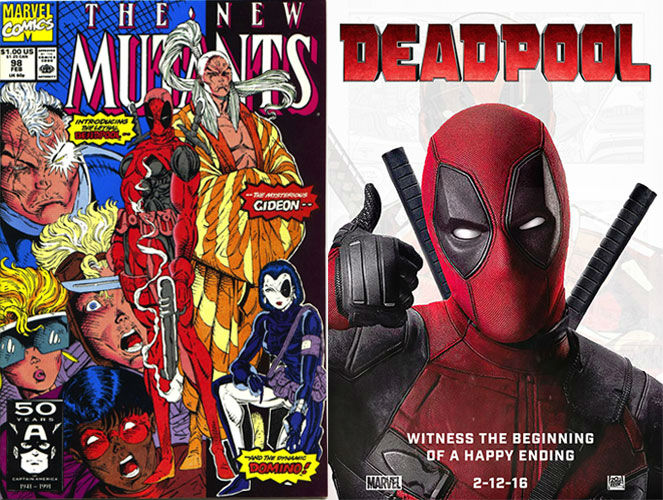 The New Mutants #98 And Deadpool
