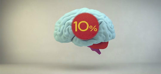 how to use 90 percent of your brain