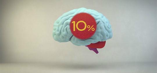 brain percent