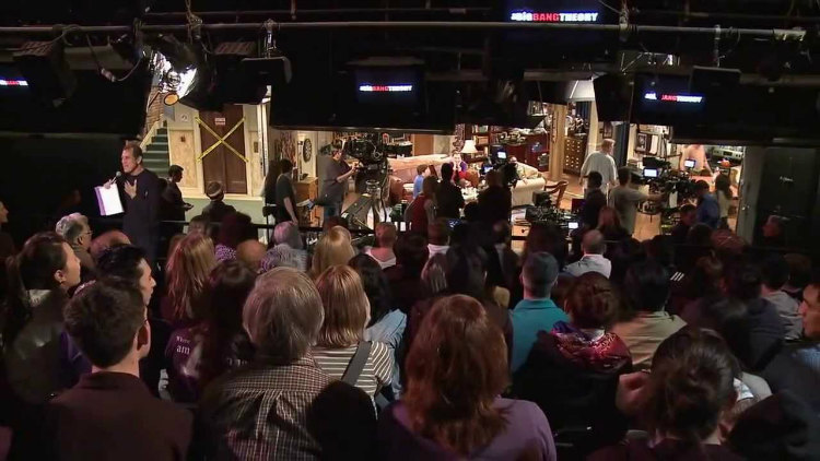 TBBT live studio audience