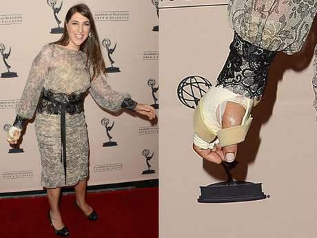 Mayim Bialik accident, Facts about The Big Bang Theory