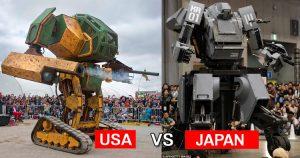 Megabots vs Kuratas