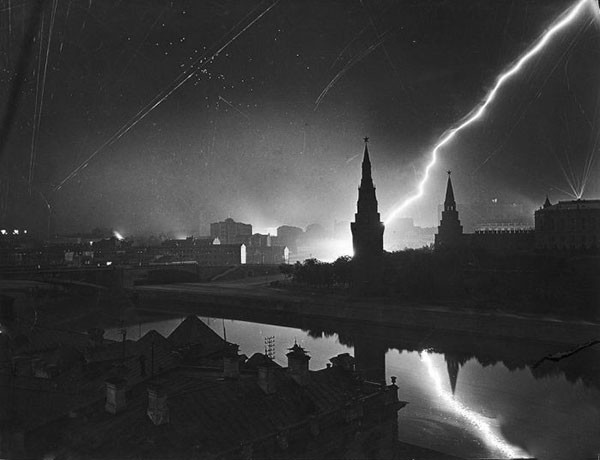 moscow under attack