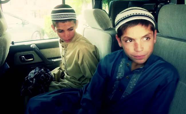 rashid in car