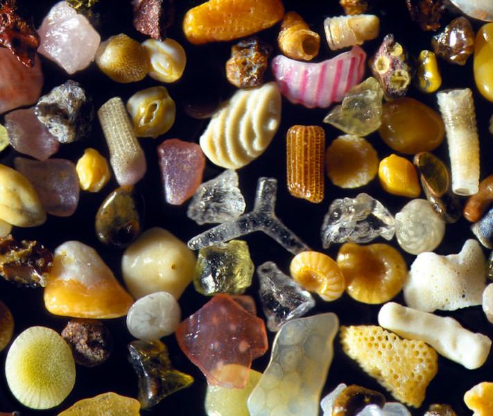 sand grains