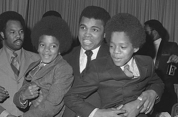 Ali with Jackson