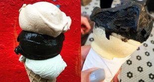 Black Ice-Cream