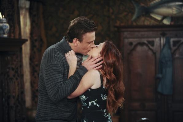 Marshall Lily kiss