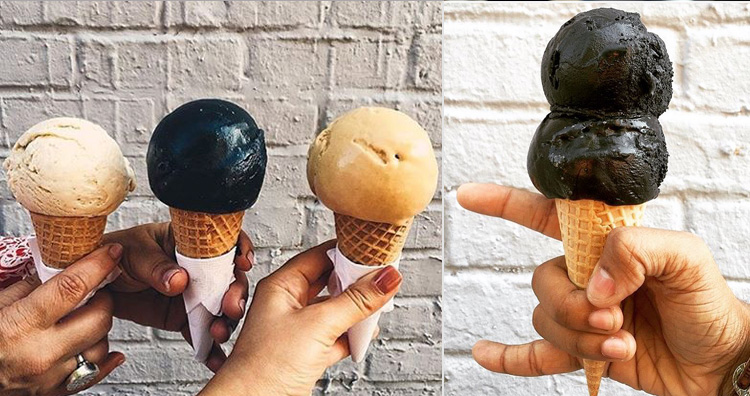 Morgenstern's Finest Black Ice Cream