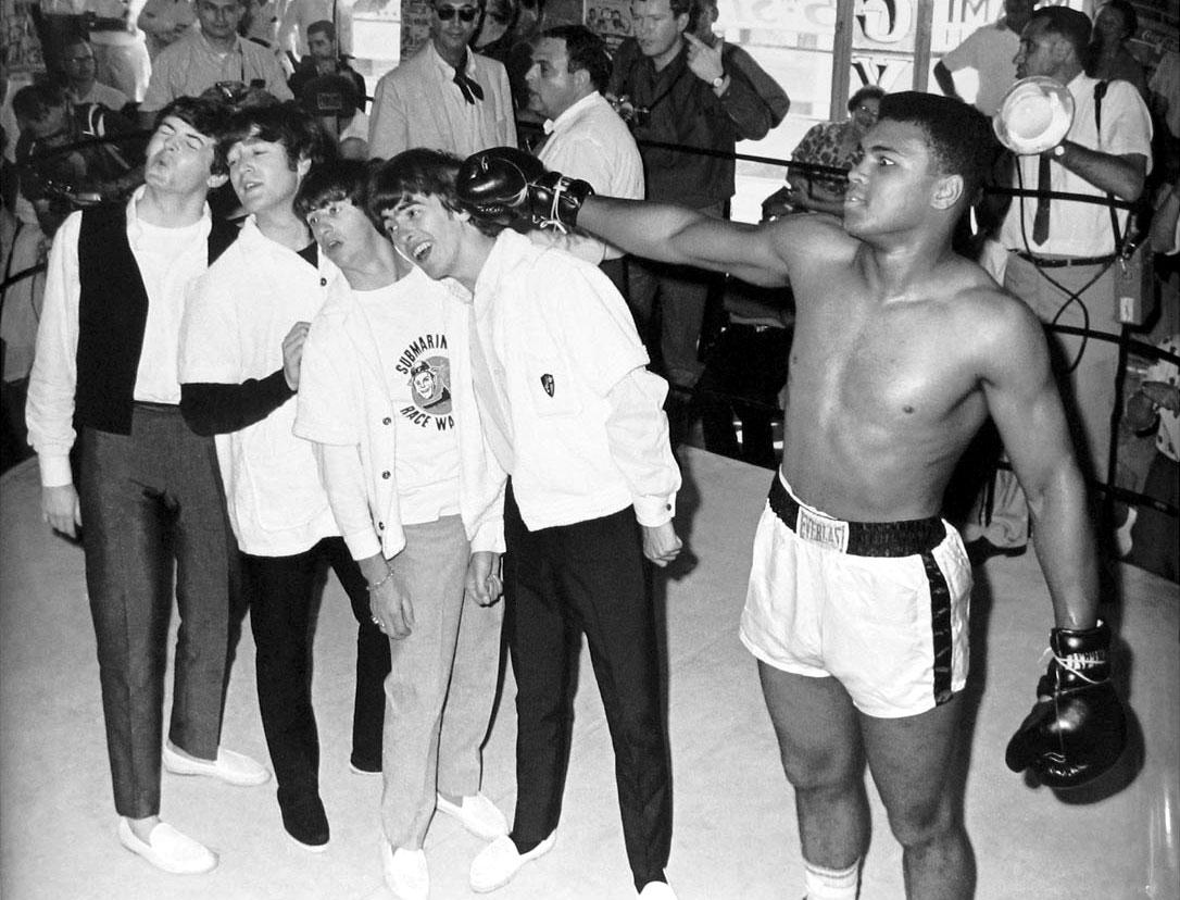 Beatles vs Ali