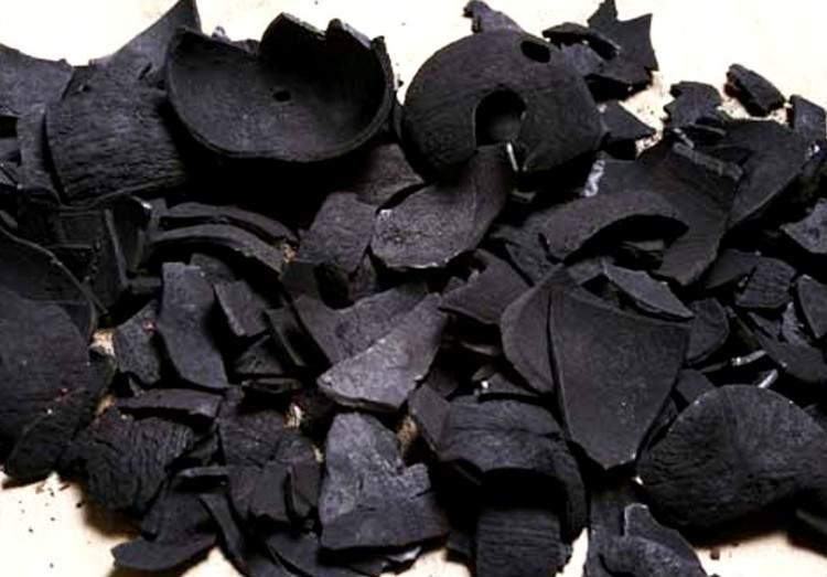 Coconut ash
