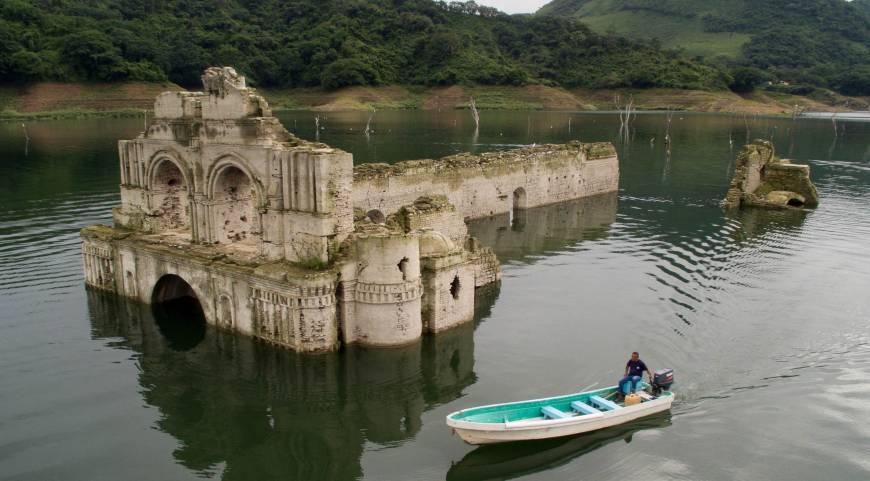 mexican church resurfaces