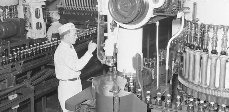 Coca-Cola Factory 1941